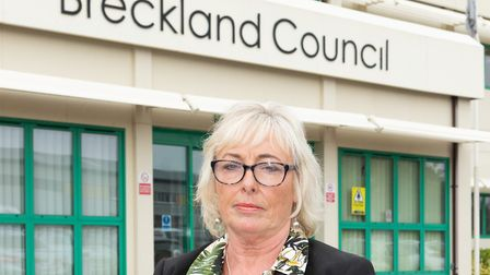 Alison Webb, executive member of housing, health and environment at Breckland Council. Picture: Keit