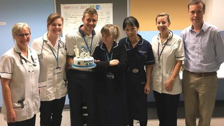 The Norfolk and Norwich University Hospital team behind the worlds' biggest prehabilitation and reha