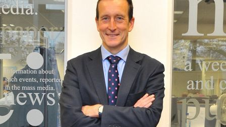 Nick Taylor, chairman of the NDAEA, Norwich & District Association of Estate Agents, with more than
