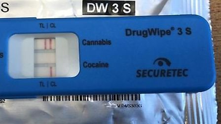 A motorist was arrested on suspicion of drug-driving after Lowestoft Police stopped a vehicle on the