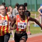 CoNAC athlete Serena Akomah has had an excellent 2019. Picture: Tony Payne