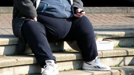 Norfolk County Council says 400,000 people in Norfolk are obese or overweight. Picture: PA