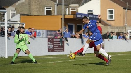 There will be more responsibility on the shoulders of Lowestoft Town's Jake Reed because of Shaun Ba