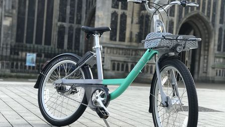 One of the new Beryl bikes which will be launched in the city in spring 2020. Picture: Lauren De Boi