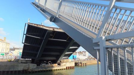 The Bascule Bridge in Lowestoft. Picture: Highways England