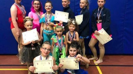 Dowham Market Marquettes Baton Twirlers brought home 22 places at the British Baton Twirling Sports