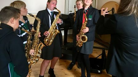 Langley School pupils in Year 6 and 7 took part in a two hour Woodwind and Brass workshop to trial a