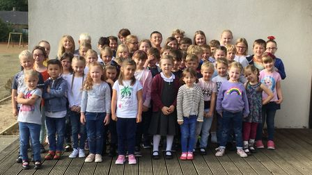 Thurlton Primary School participated in Jeans for Genes Day - learning so much about different genet