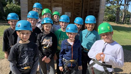 Woodland View Junior School's Year 6 students had a fun residential trip at Kingswood which included