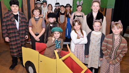Cast of the Wind in the Willows at St George's Youth Theatre Credit: Supplied by Norfolk Arts Awards