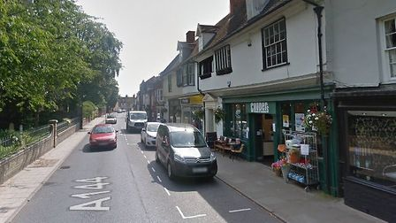 St Mary's Street in Bungay, where the assault took place. Photo: Google Maps