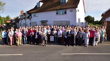 Villagers in Pulham St Mary flocked to a public meeting in 2015 to discuss the future of the redunda