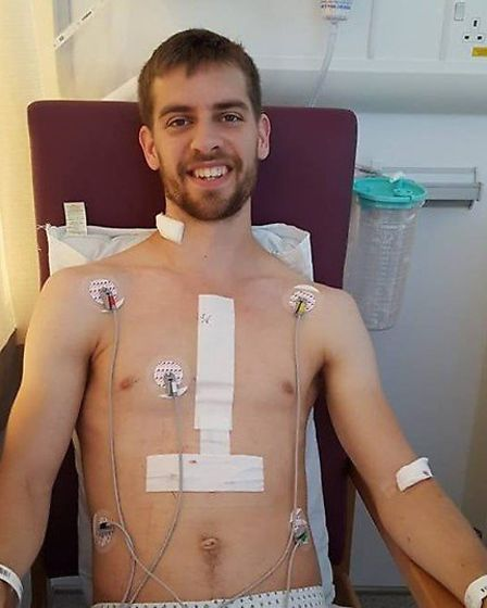 Joe Rejek, from Bowthorpe, is set to take on an ultra-marathon just two years after having lifesavin