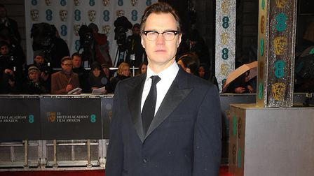 David Morrissey arriving for the 2013 British Academy Film Awards at the Royal Opera House, Bow Stre