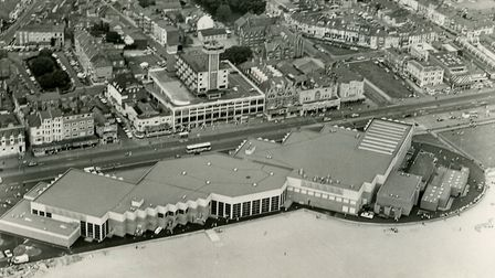 Aerial view of the Marina Centre in Great Yarmouth. Picture: Archant library