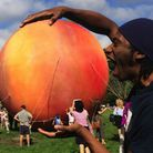 Explring the science of the giant peach in a Roald Dahl exploration Picture: supplied