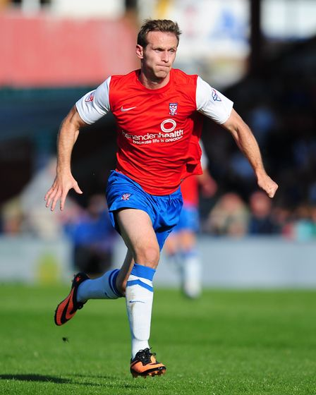 Ryan Jarvis in his days as a York City player Picture: PA