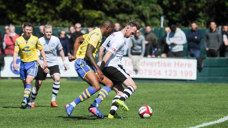 Ryan Jarvis in action in the super play-off final at Warrington last season which earned the Linnets