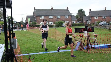 Rose Waterman took victory at the Bure Valley 10. Picture: Total Race Timing