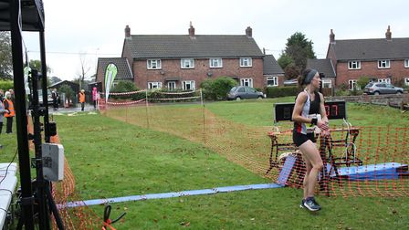 Jessica Behan was the runner up at the Bure Valley 10. Picture: Total Race Timing