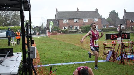 Peter Harvey was the runner up at the Bure Valley 10. Picture: Total Race Timing