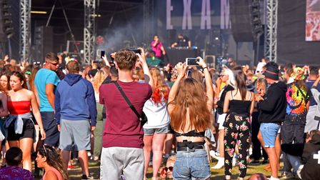 File photo of the crowds enjoying the Sundown Festival 2019 at the Royal Norfolk Showground. Picture