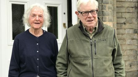 Mary and Oliver Logan live in the more affluent area of the Golden Triangle in Norwich. Picture: Nei
