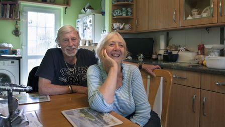 Norman and Marie Collins live on Ruskin Road, one of the least deprived neighbourhoods in Norwich. P