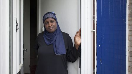 Maimuna Balde lives in Northfields, one of the most deprived neighbourhoods in Norwich. Picture: Kat