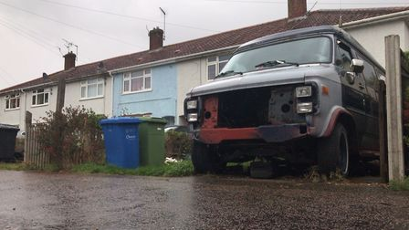 Morse Road in Norwich is among the most deprived neighbourhoods in England. Picture: Neil Didsbury