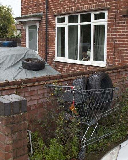 Morse Road is one of the most deprived neighbourhoods in Norwich. Picture: Kate Wolstenholme.