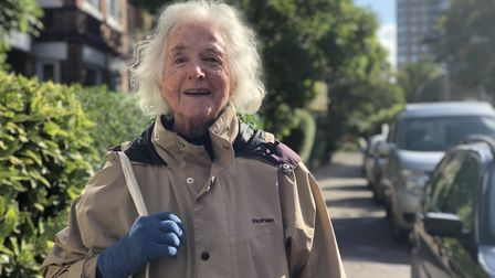 Mary Logan, 84 has lived on Clarendon Road in Norwich since she was in her thirties. Picture: Neil D