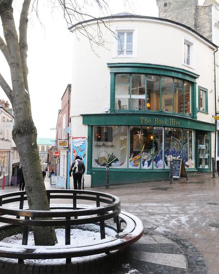 The Book Hive, in the Norwich Lanes, on London Street. Photo: Nick Butcher