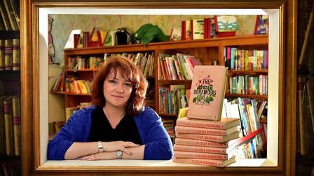 Eimear McBride, pictured at The Book Hive to talk about her book The Lesser Bohemians. Photo: Antony