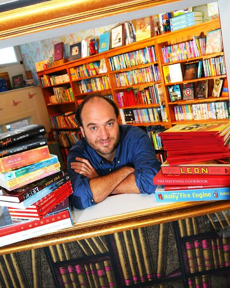 Independent bookshop The Book Hive at its opening on London Street, in Norwich Picture: James Bass