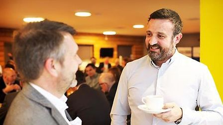 Rob Lilly, supply chain manager for Vattenfall. Picture: Vattenfall