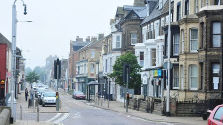 The area near, and including, London Road South in Lowestoft was identified as the most deprived nei