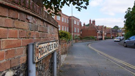 The Recorder Road area of Norwich where St Martins Housing Trust hopes to set up a new homeless hub