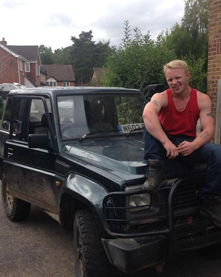Luke Ware was killed after a lorry stuck his car. Picture: Submitted