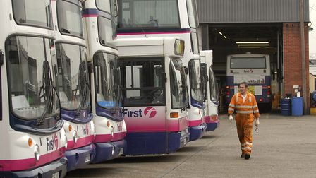 First Buses is looking to expand its depot on Vulcan Road