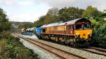 Trains designed to blast leaves off railway lines are just one of a number of measures to keep passe