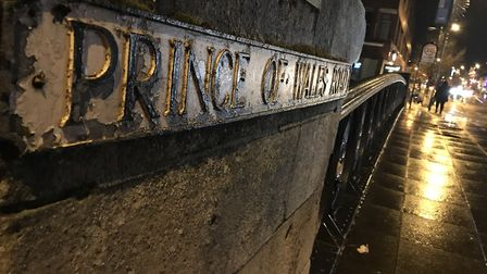 Prince of Wales Road Norwich sign