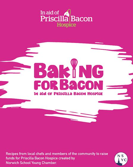 The new cookbook, which will raise funds for the Priscilla Bacon Hospice appeal