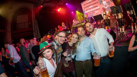 All the photos from the opening night of Oktoberfest 2019 at Open, Norwich. Photo credit Simon Finla