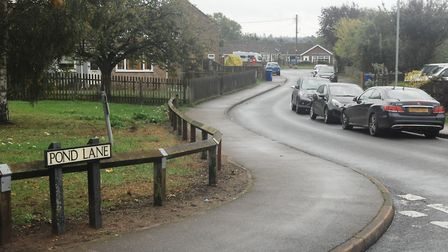 Pond Lane, in Brandon, where the incident happened Picture: Chris Bishop
