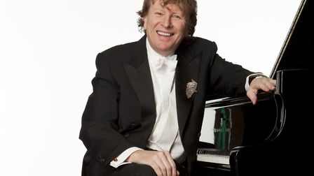 Piers Lane is performing with the Academy of St Thomas Orchestra Credit: Supplied by Academy of St T