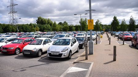 Thickthorn Park and Ride could be extended. Picture: DENISE BRADLEY