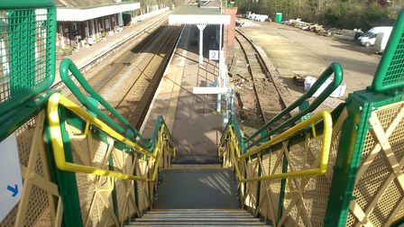 Improvements could be made to access at Wymondham railway station. Pic: Andy Marrison.