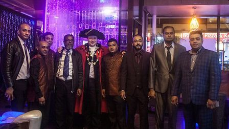 The team at Spice Valley in Magdalen Street Credit: Spice Valley