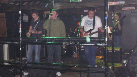 Specialist reporter David Hannant (far right) performs at The Ferry Boat with The Era, Picture: Matt